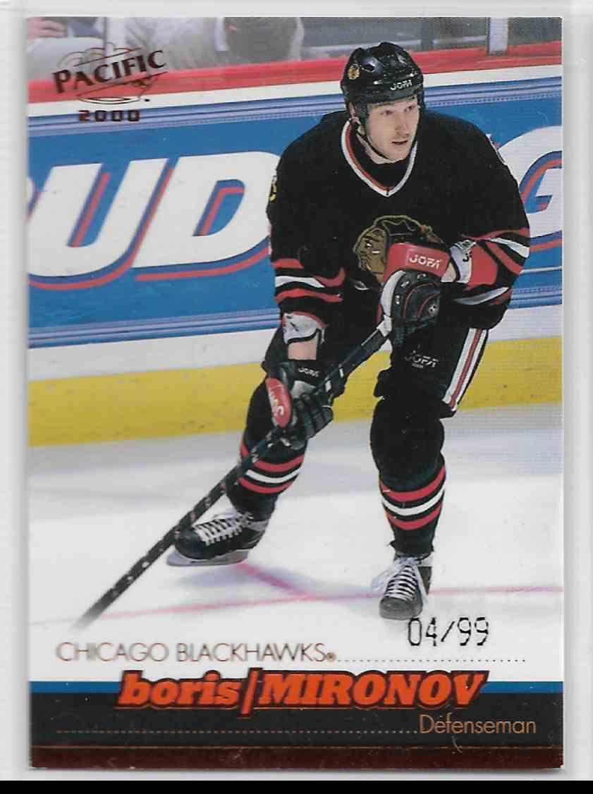 1999-00 Pacific Copper Boris Mironov #94 card front image