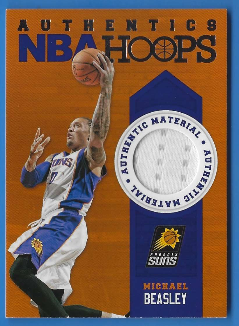 2013-14 Hoops Authentics Michael Beasley #21 card front image