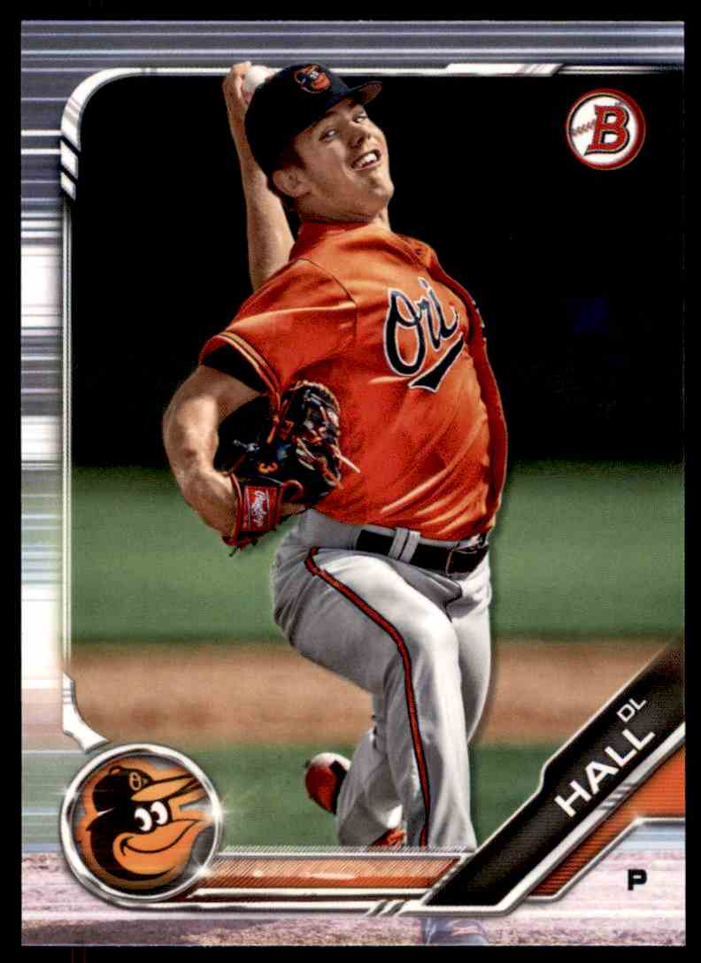 2019 Bowman DL Hall #BP-139 card front image