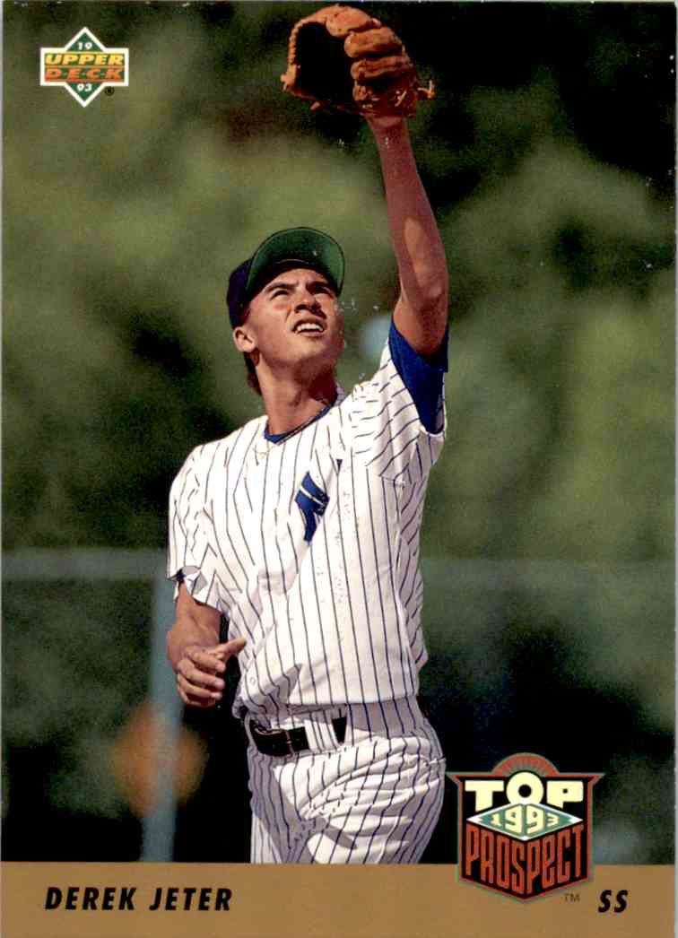 1993 Upper Deck Series 2 Top 91 Prospects Derek Jeter #449 card front image