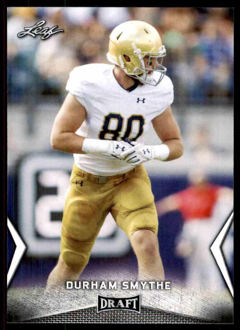 2018 Leaf Draft Durham Smythe #22 card front image