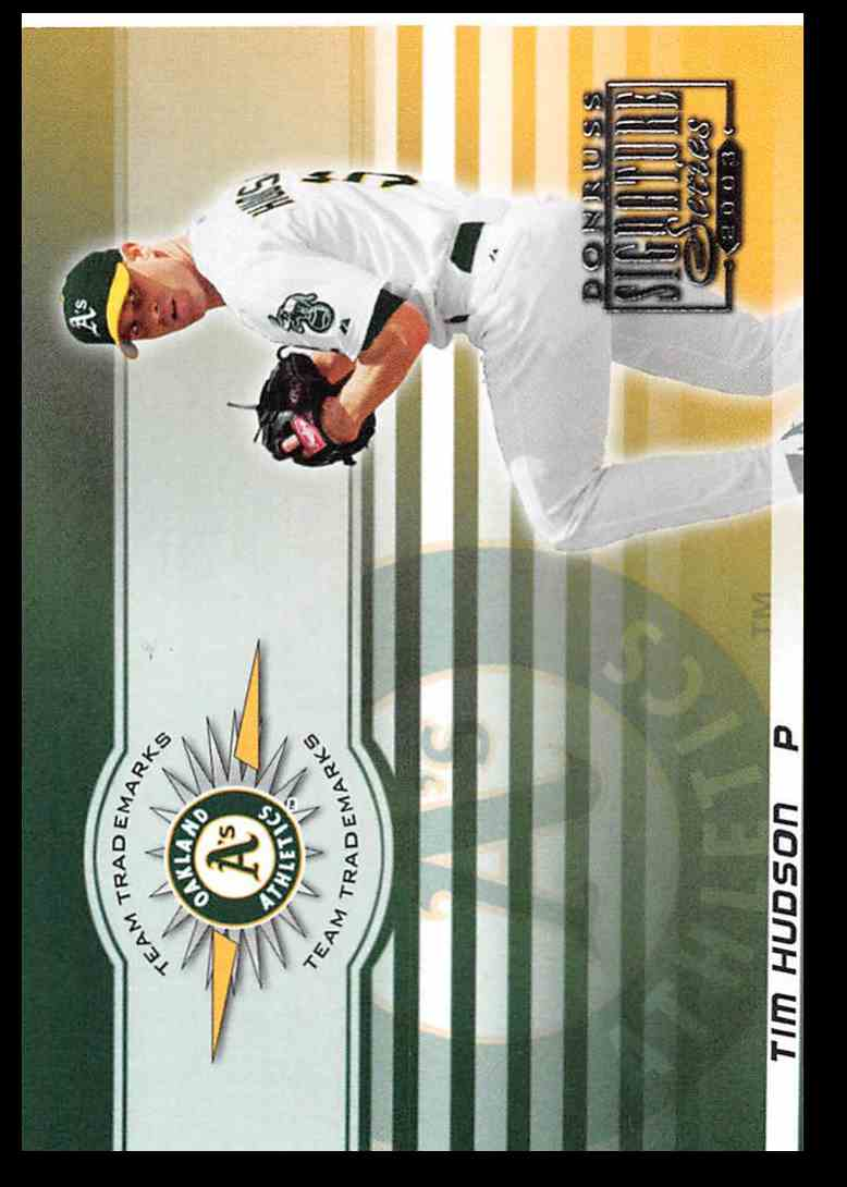 2003 Donruss Signature Team Trademarks Tim Huson #33 card front image