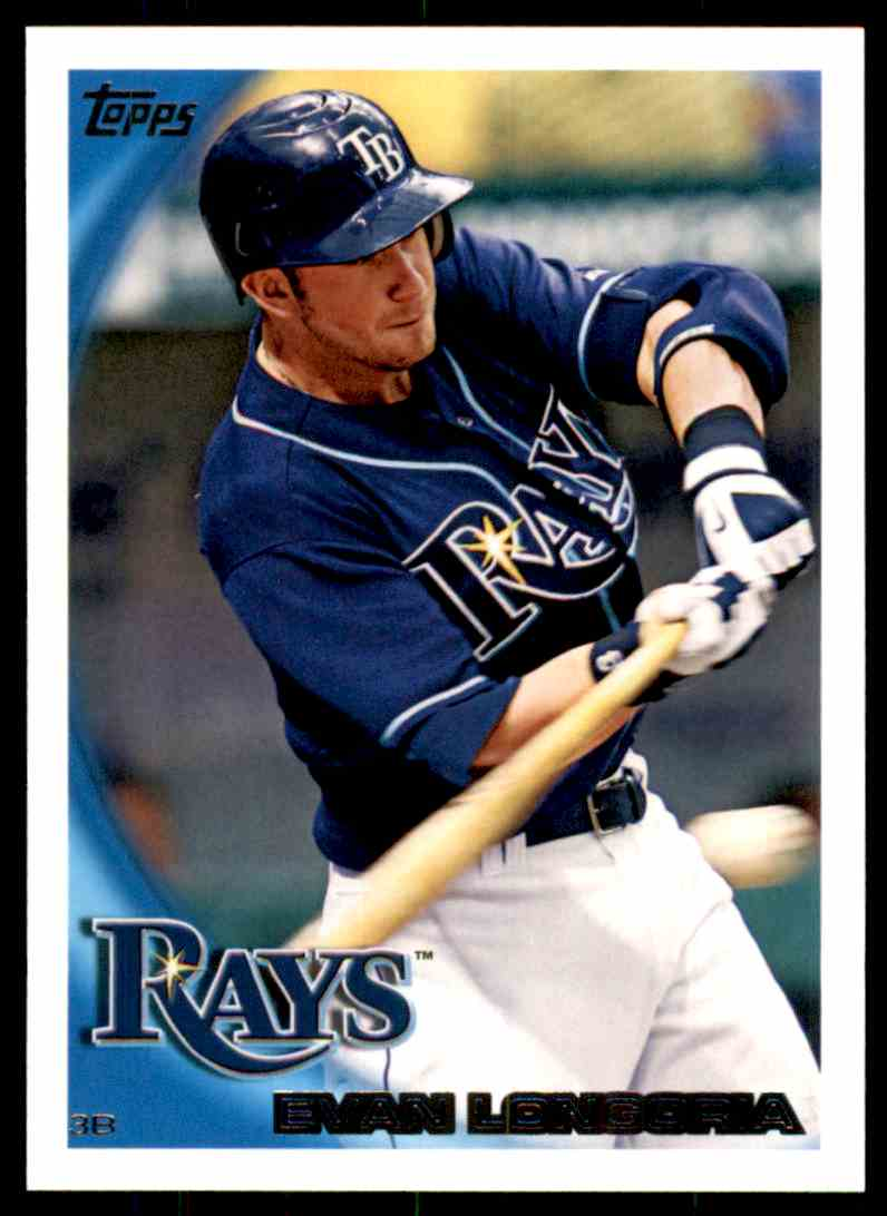 2010 Topps Evan Longoria #354 card front image