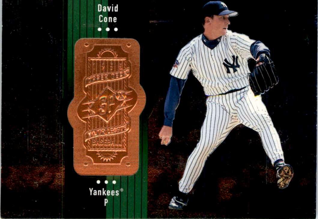 1998 SPx Finite David Cone #106 card front image