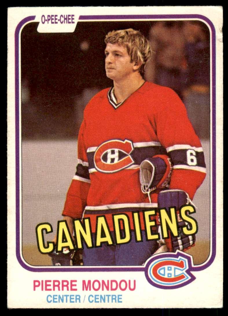 1981-82 OPC Pierre Mondou #188 card front image