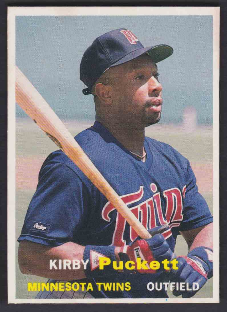 1990 Scd Baseball Card Price Guide Kirby Puckett 23 On