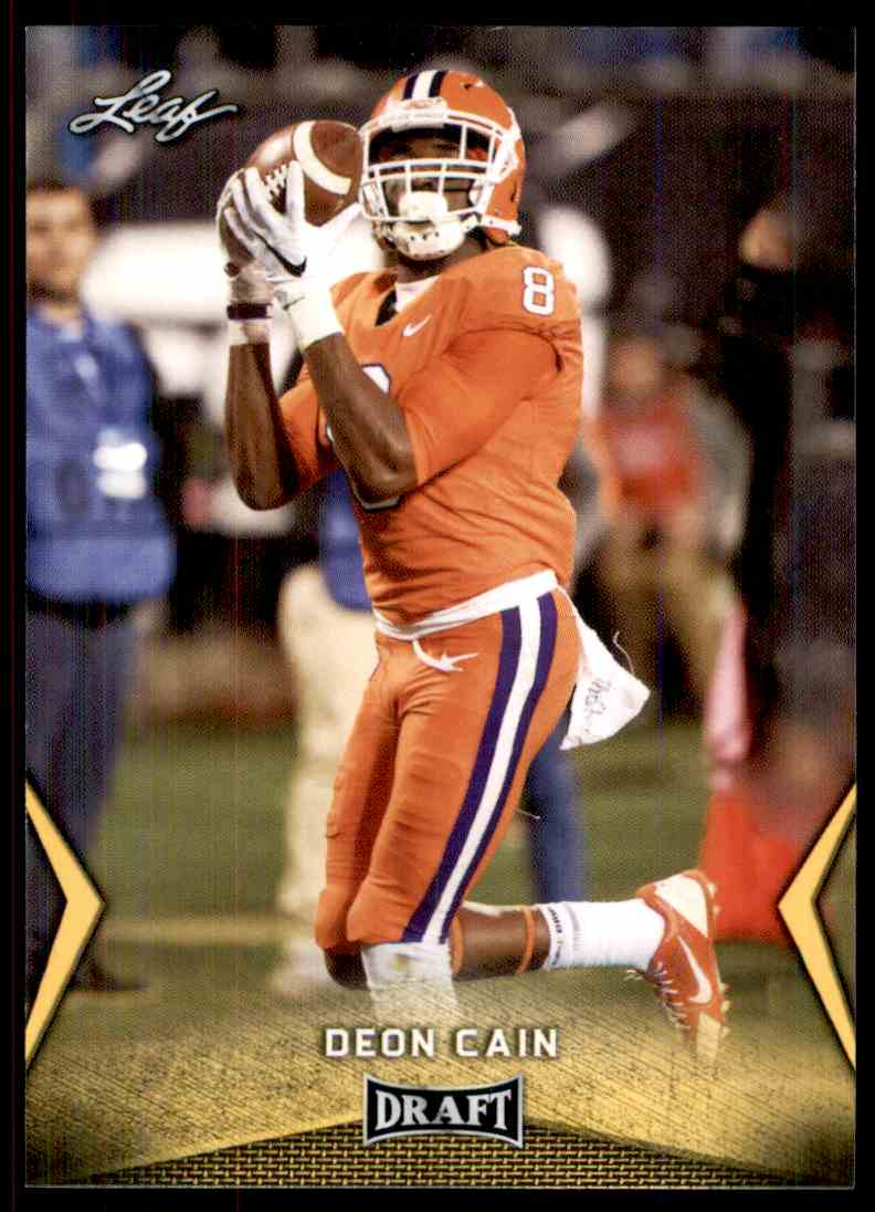 2018 Leaf Draft Deon Cain #18 card front image