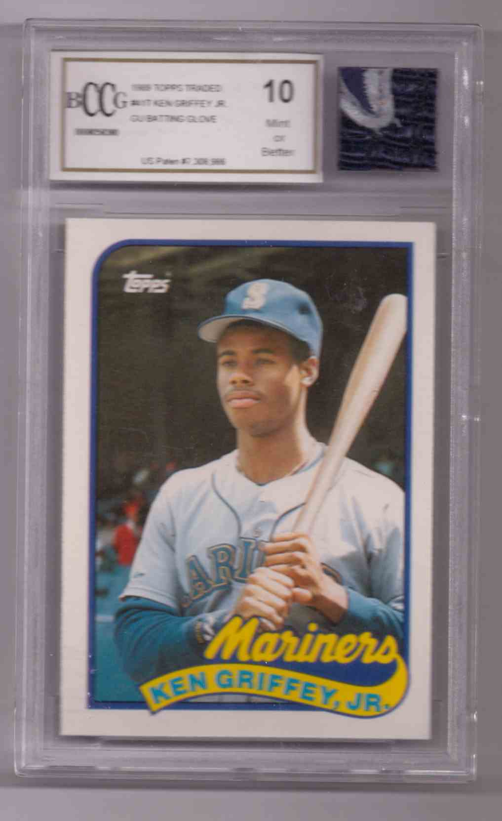 1988 Topps Ken Griffey JR #411 card front image