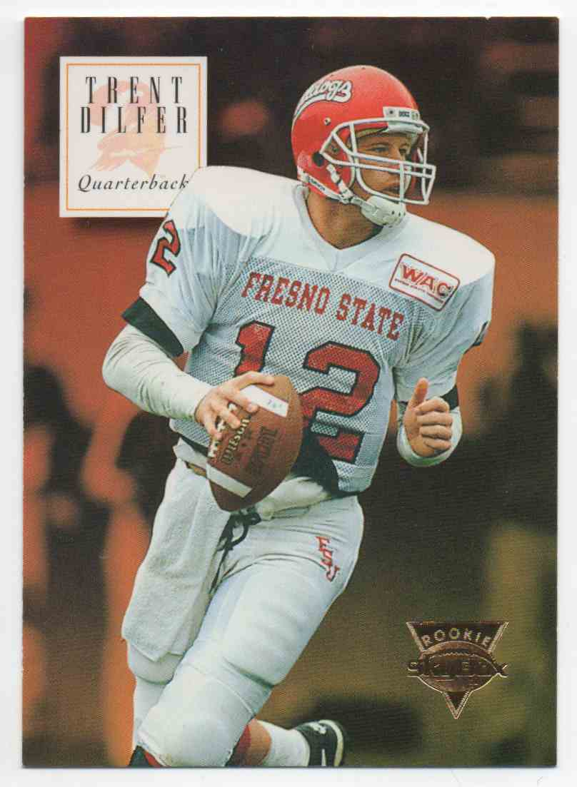 1994 Skybox Trent Dilfer #162 card front image