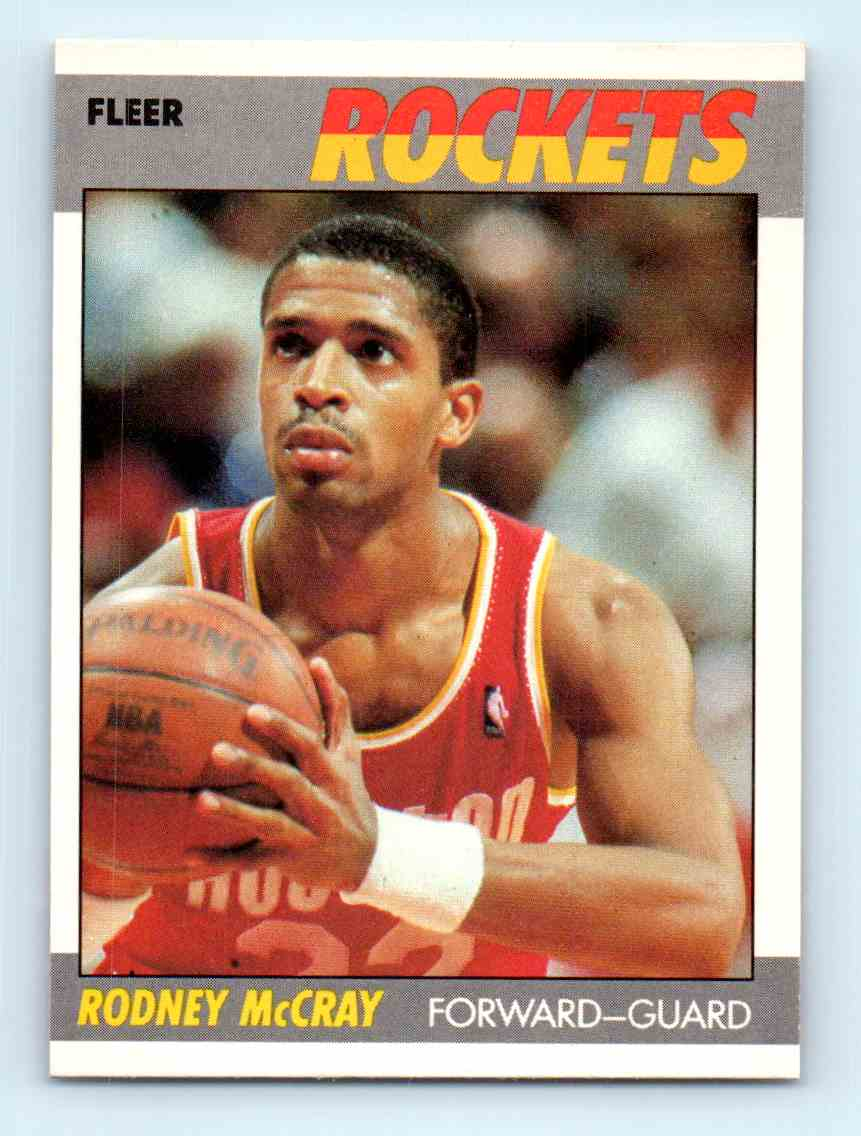170 Rodney Mccray trading cards for sale