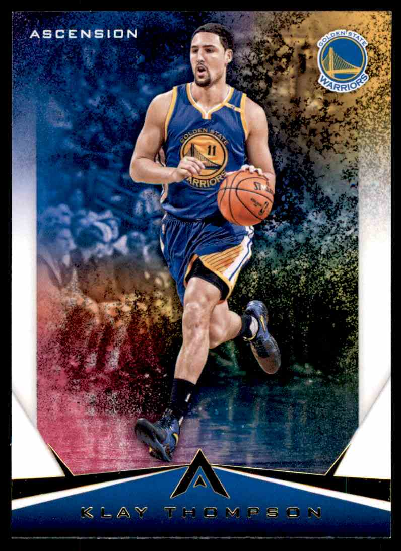 2017-18 Panini Ascension Klay Thompson #27 card front image