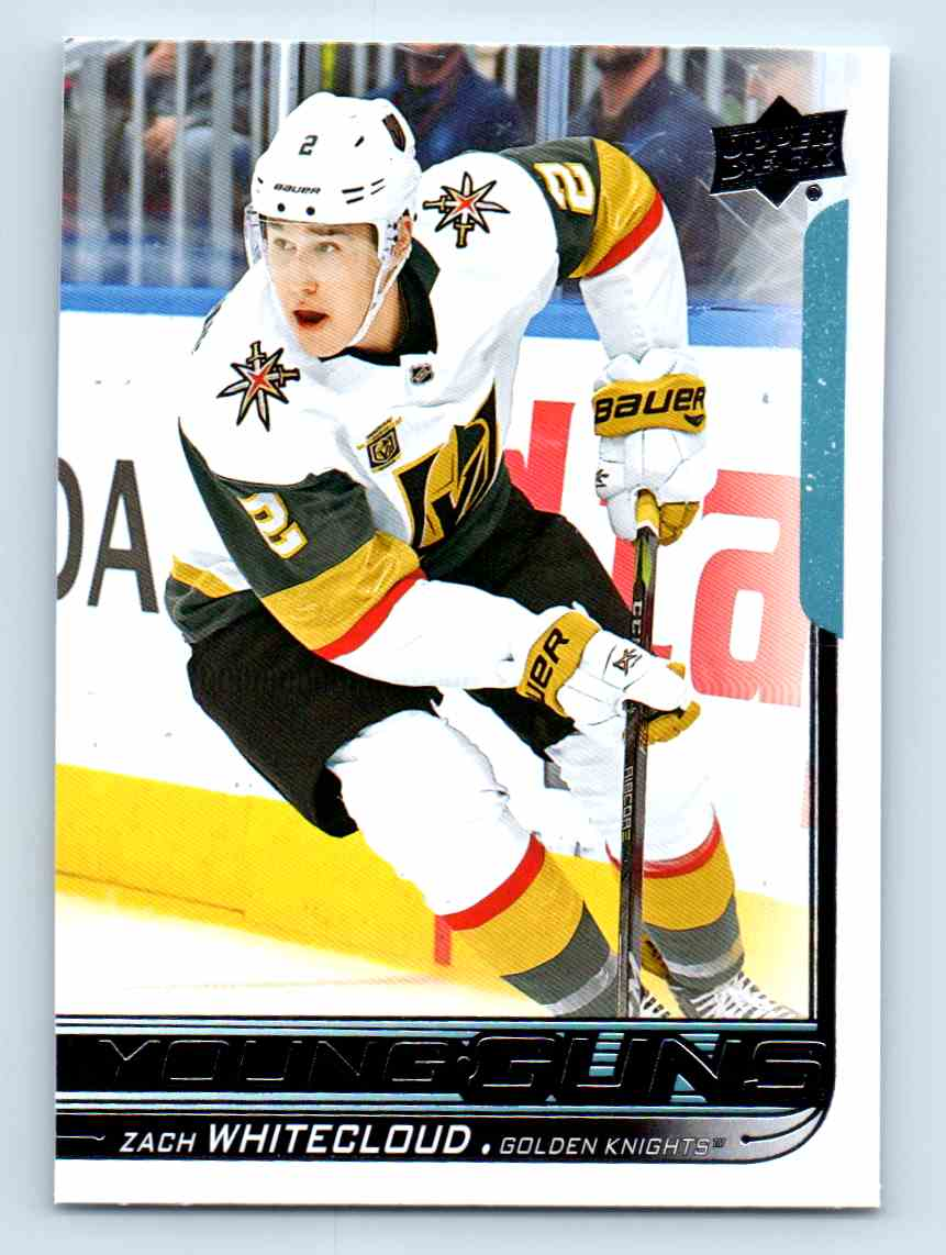 2018-19 Upper Deck Young Guns Zach Whitecloud #237 card front image