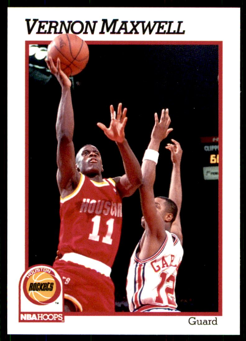 1991 92 Nba Hoops Vernon Maxwell 77 on Kronozio