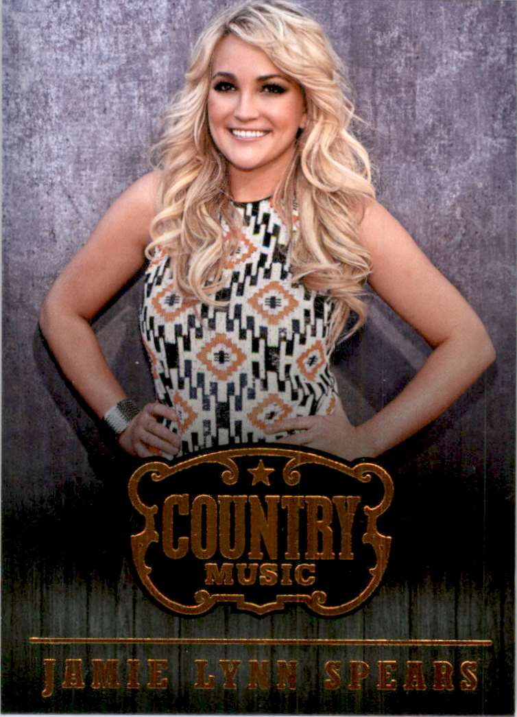 2015 Country Music Retail Jamie Lynn Spears #44 card front image