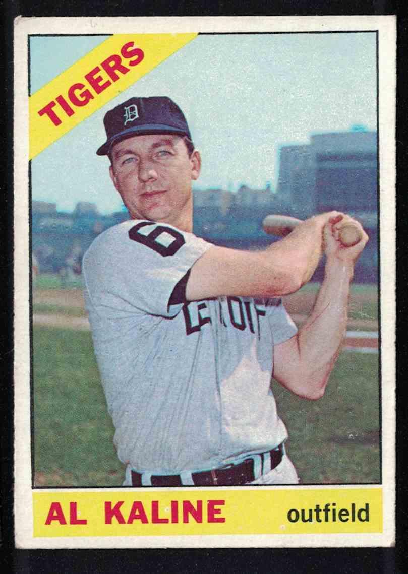1966 Topps Al Kaline EX+ #410 card front image