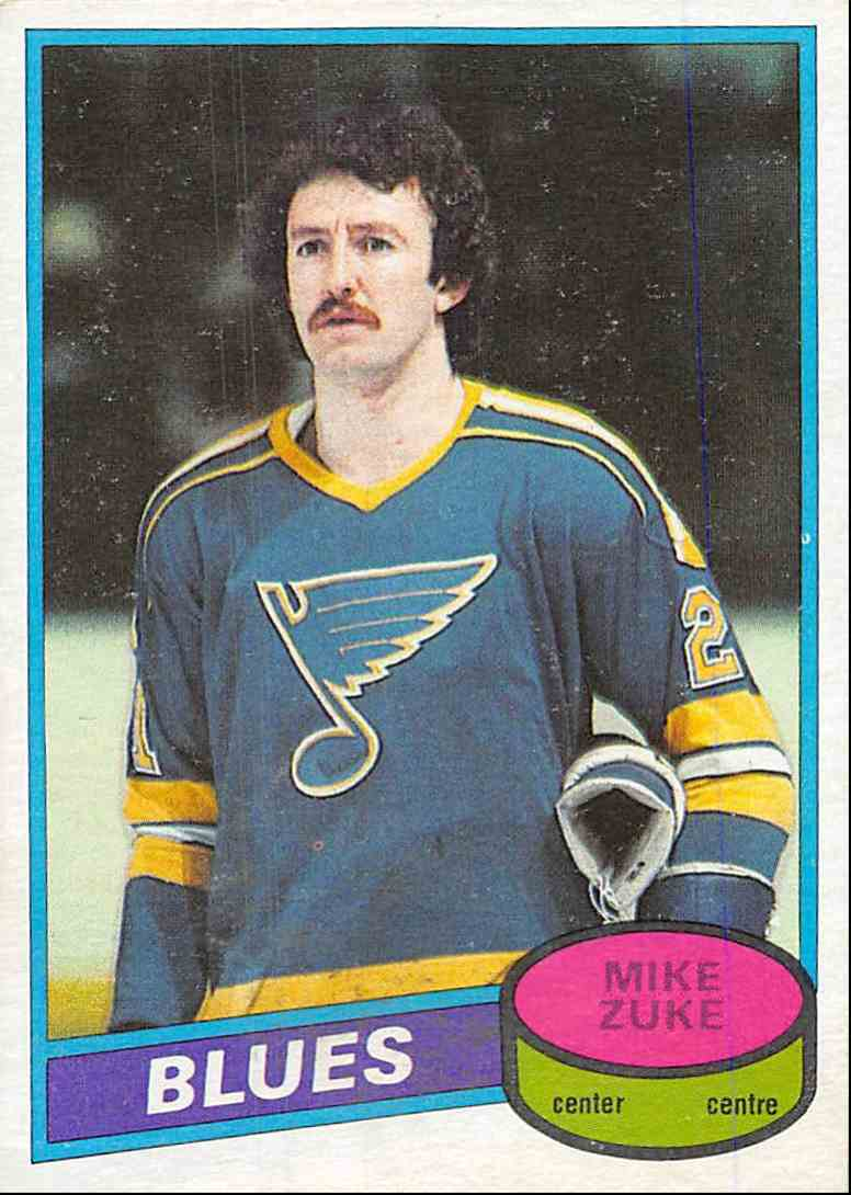 1980-81 O-Pee-Chee Mike Zuke #209 card front image