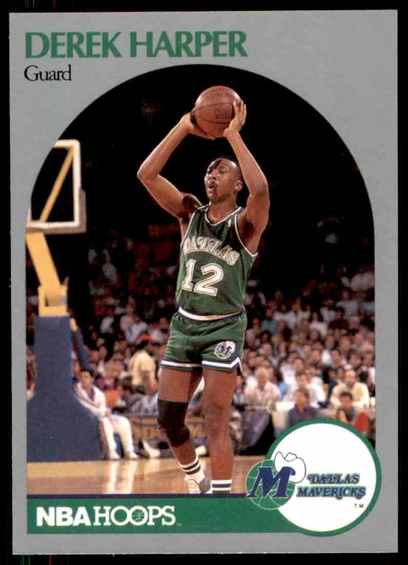 1990 91 NBA Hoops Derek Harper 86 on Kronozio