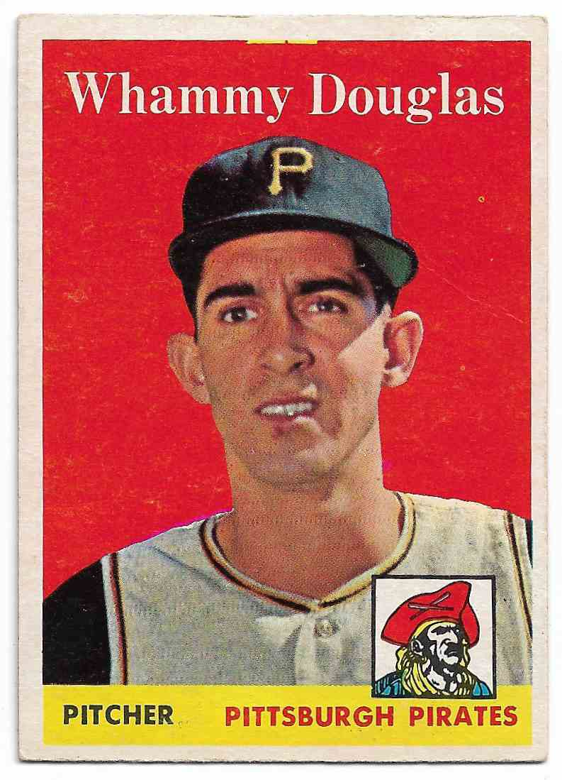 1958 Topps Whammy Douglas #306 card front image