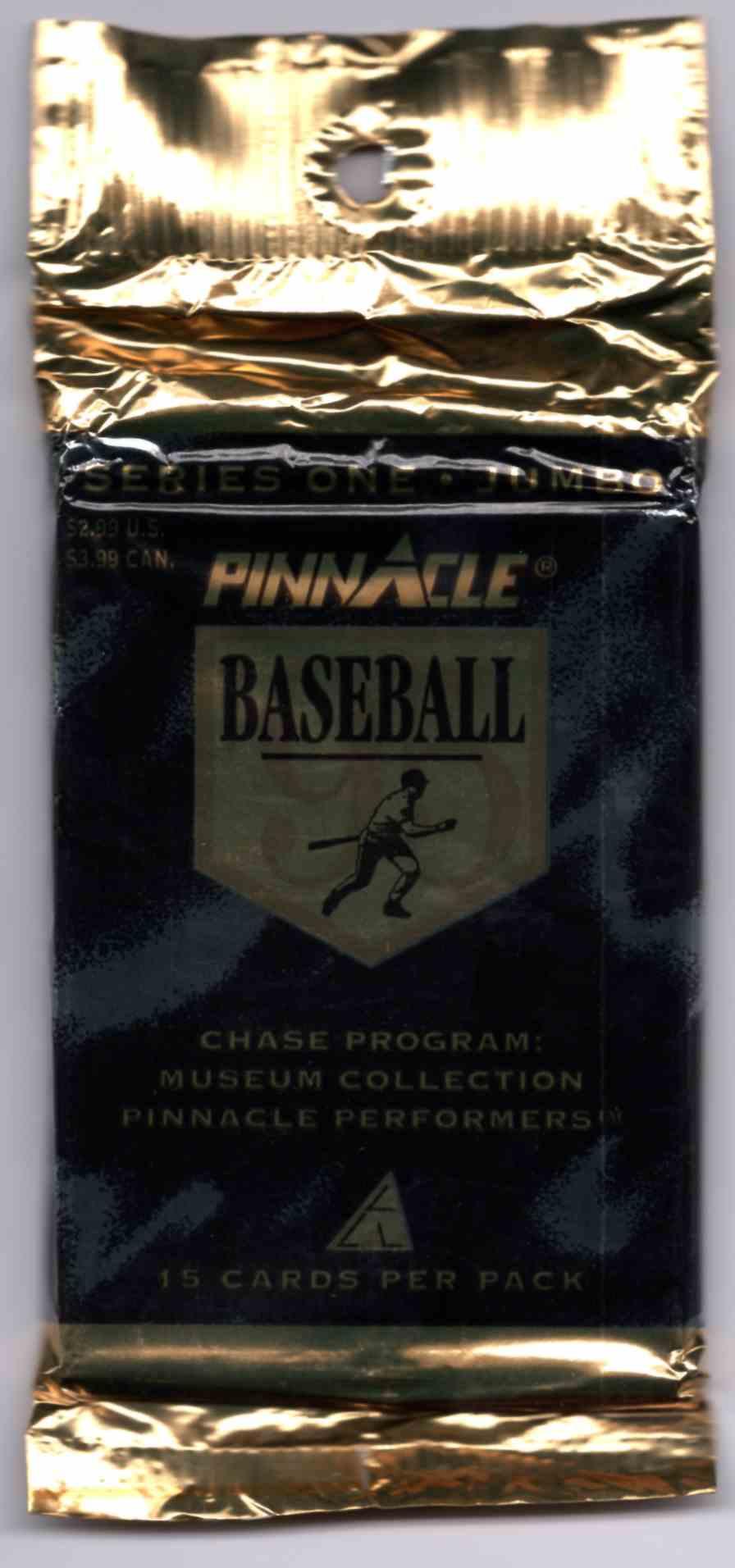 1995 Pinnacle Jumbo Unopened Pack #15 card front image