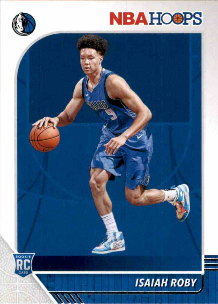 2019-20 Hoops Isaiah Roby RC #234 card front image