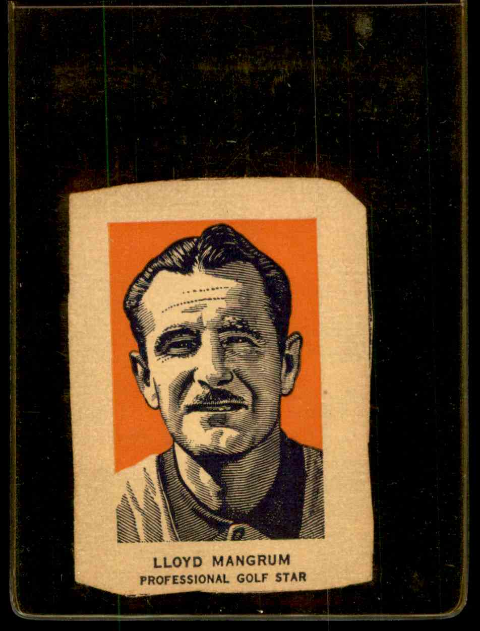 1952 Wheaties Portrait Lloyd Mangrum #G5B card front image