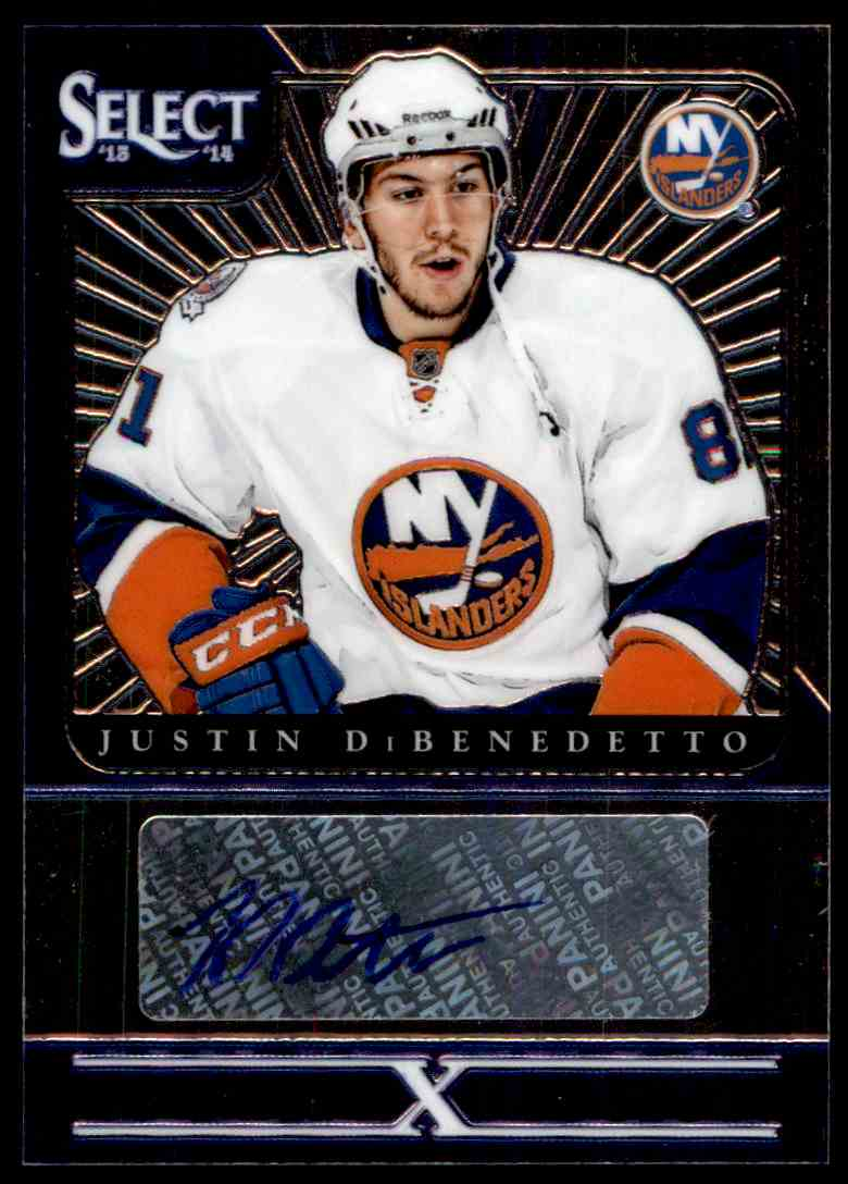 2013-14 Panini Select Youth Explosion Justin DiBenedetto #YE-JD card front image