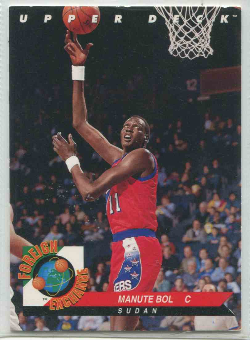 167 Manute Bol trading cards for sale