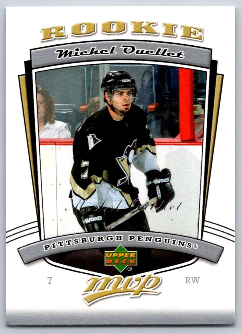 2006-07 Upper Deck MVP Michel Ouellet #348 card front image