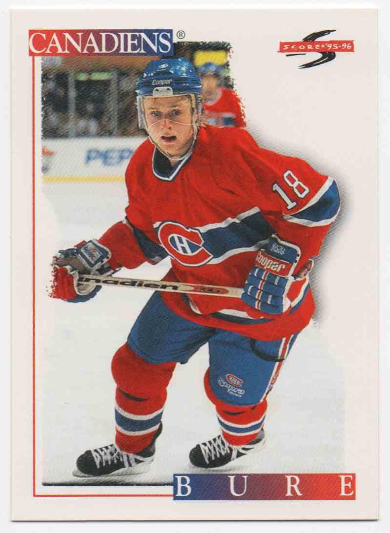 1995-96 Score Valeri Bure #138 card front image