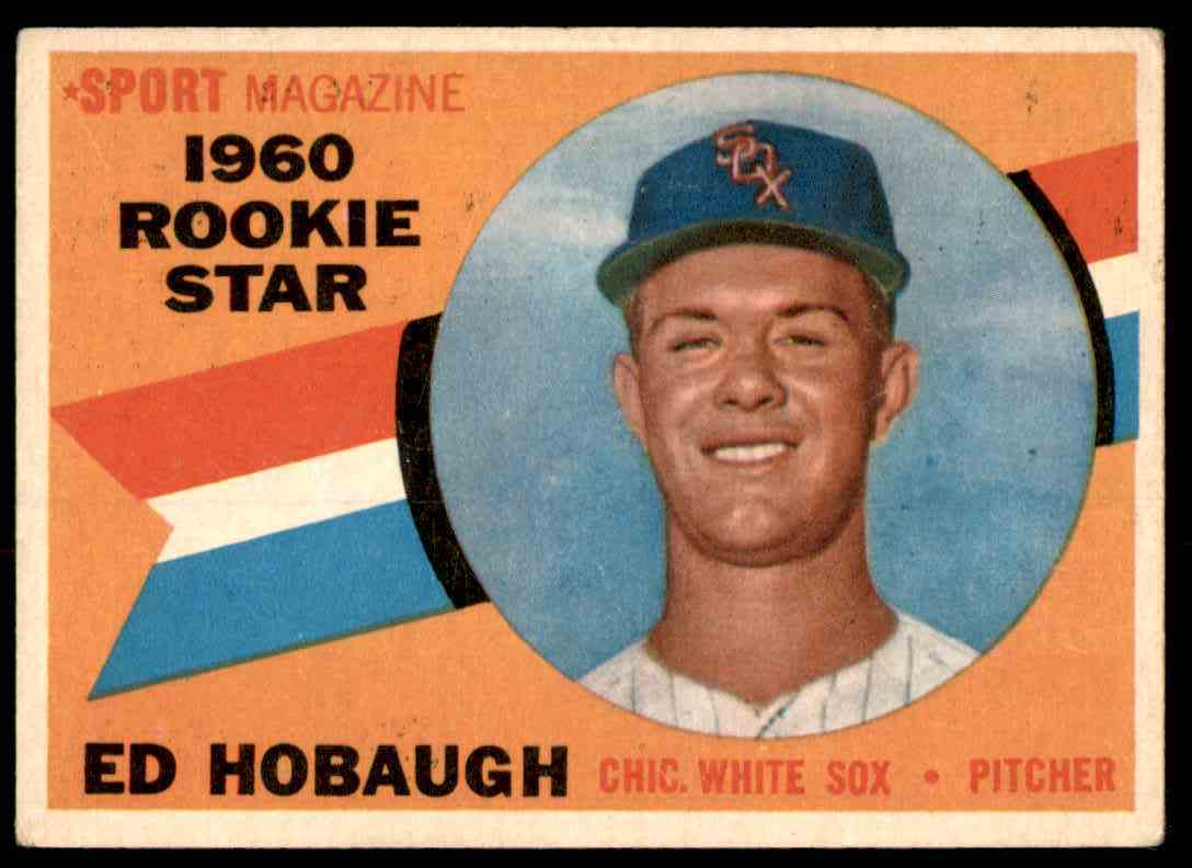 1960 Topps Ed Hobaugh Rs RC #131 card front image