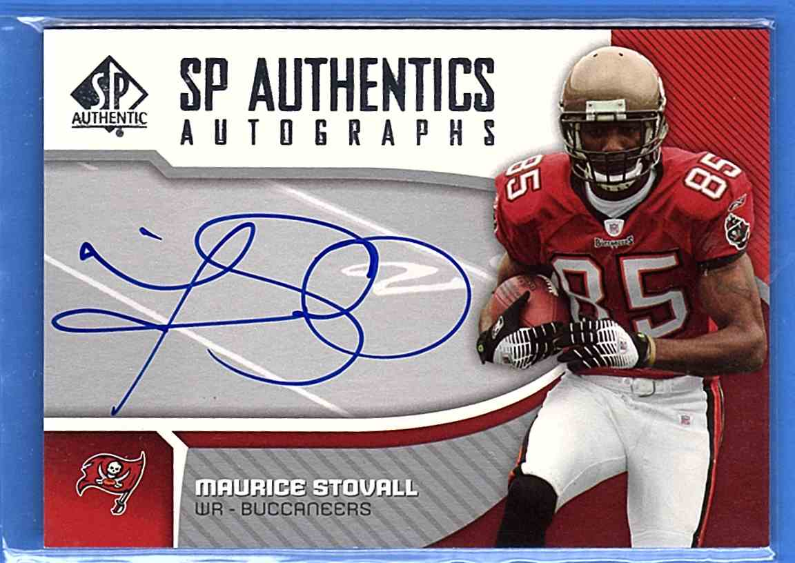 2006 SP Authentic Autographs Maurice Stovall #SP-MS card front image
