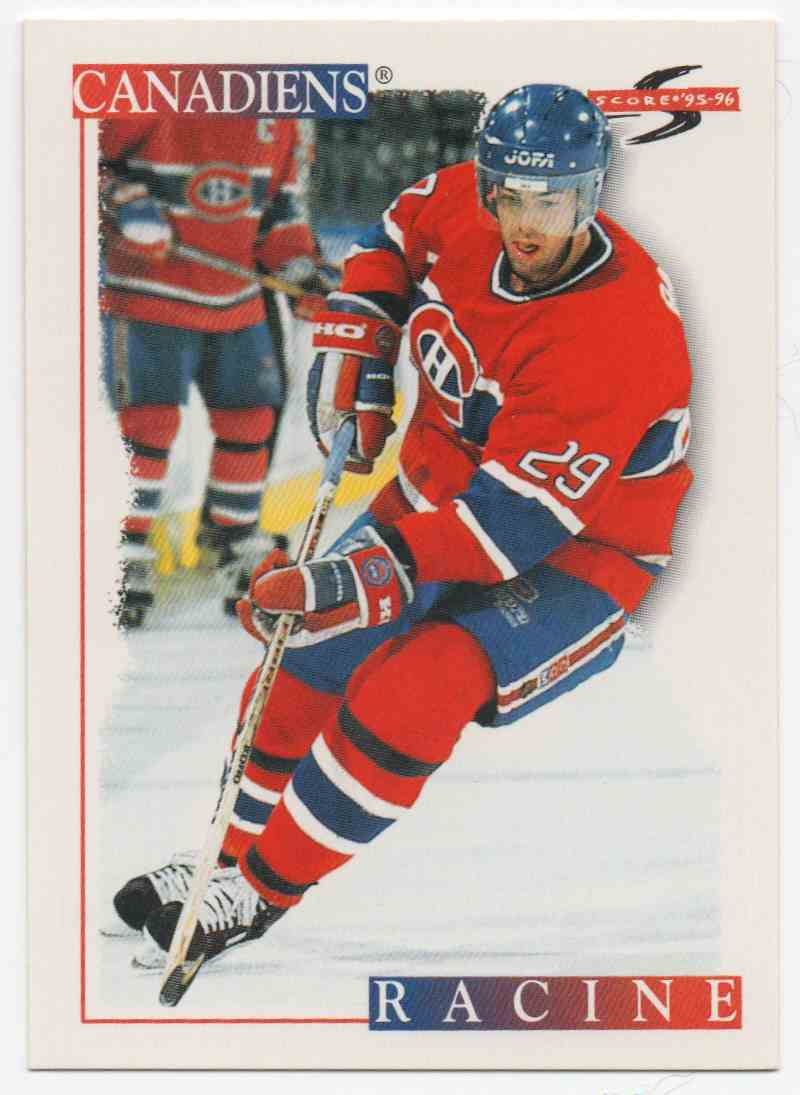 1995-96 Score Yves Racine #221 card front image