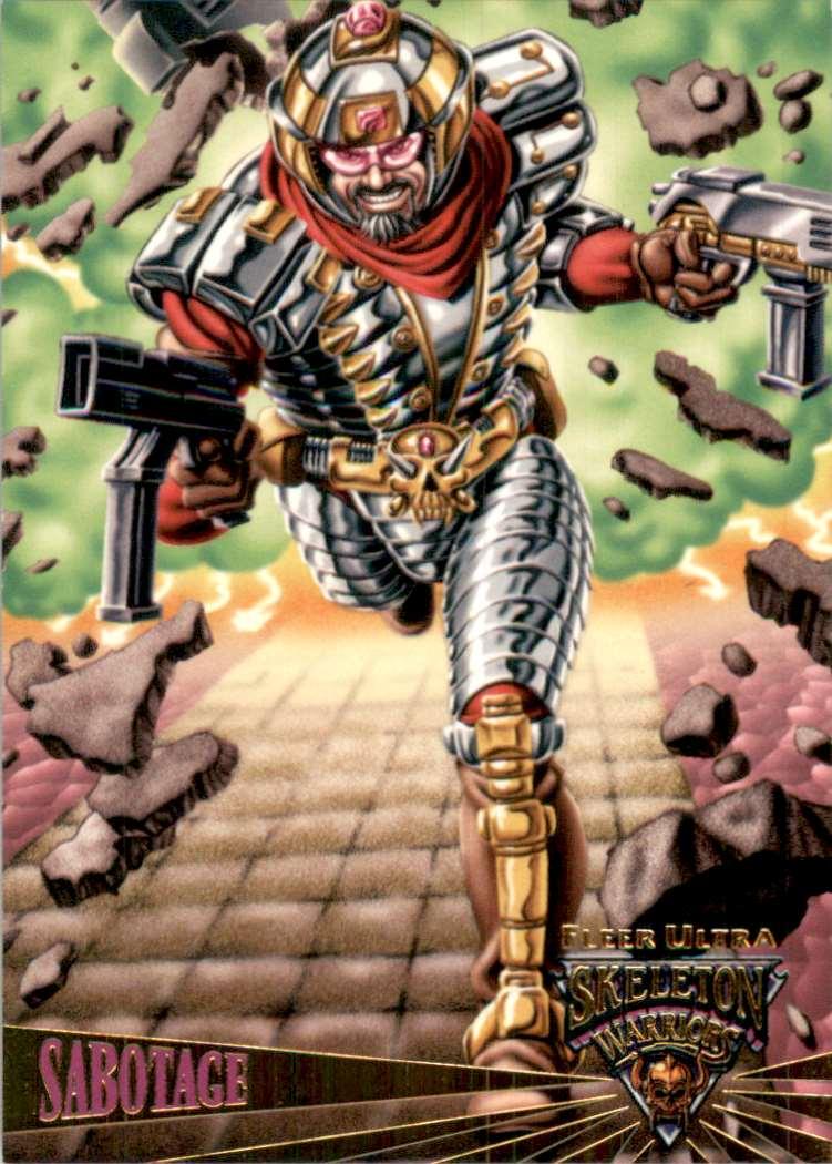 1995 Skeleton Warriors Ultra Sabotage: Harmonic Divergence #90 card front image