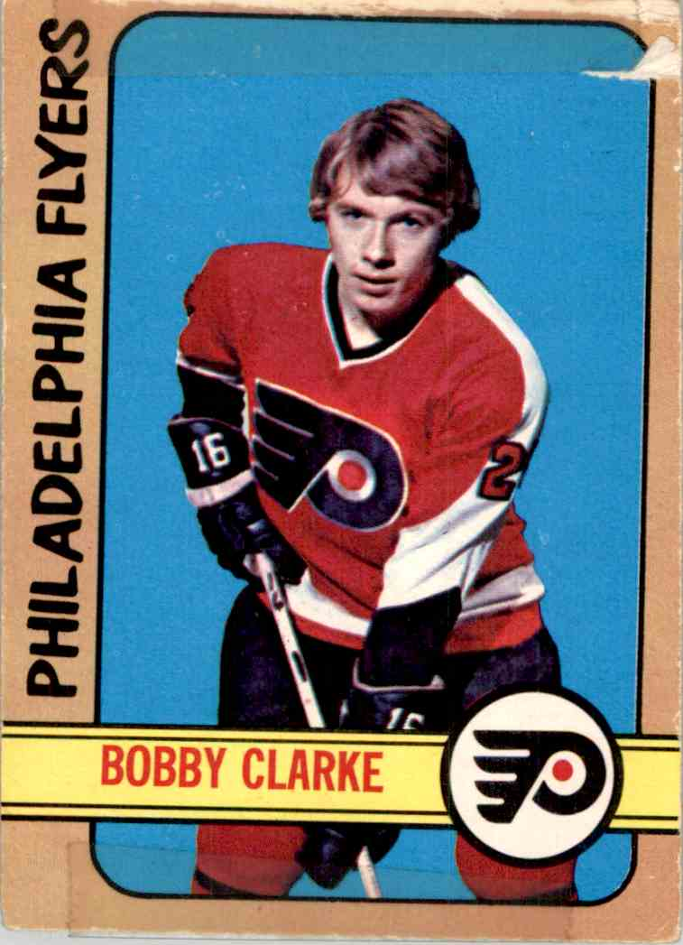 1972-73 O-Pee-Chee Bobby Clarke #14 card front image