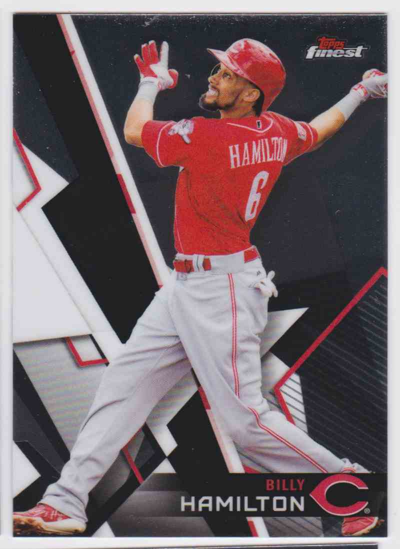 2018 Topps Finest Billy Hamilton #33 card front image