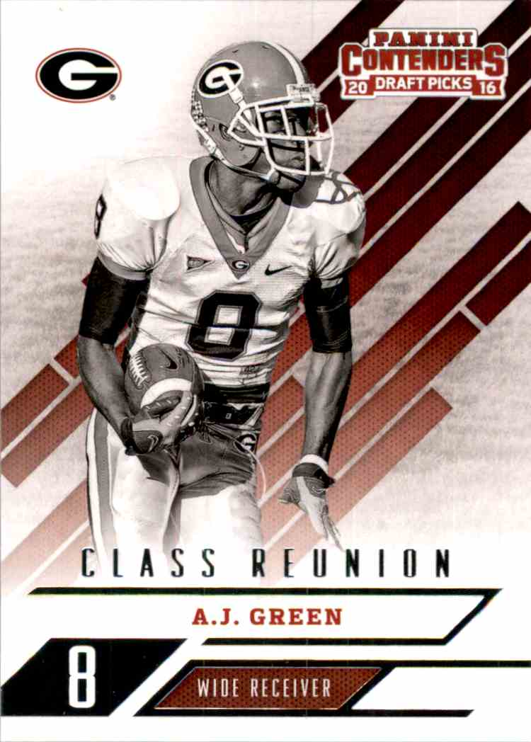 2016 Panini Contenders Draft Picks Class Reunion A.J. Green #1 card front image