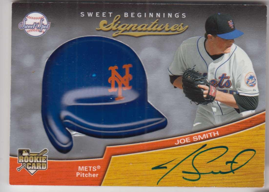 2007 Upper Deck Sweet Spot Joe Smith #124 card front image