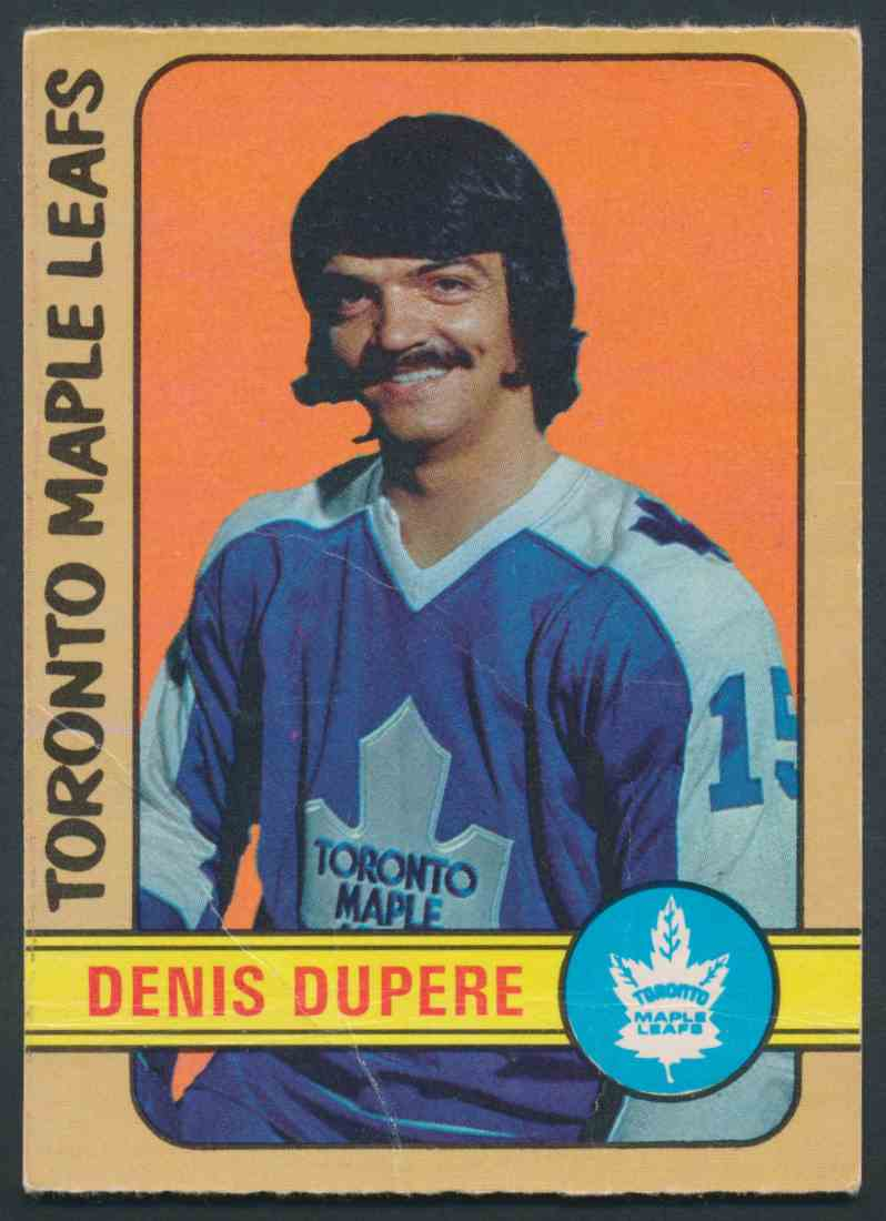 1972-73 O-Pee-Chee Denis Dupere #167 card front image