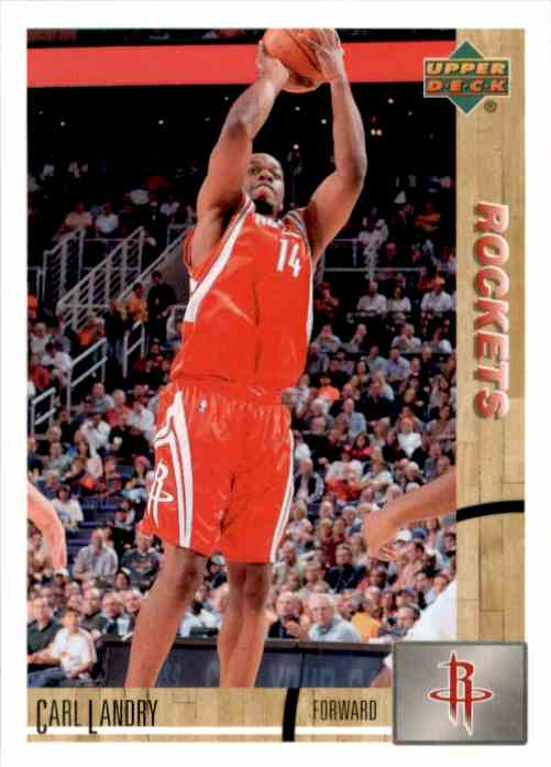 2008-09 Upper Deck Lineage Carl Landry #175 card front image