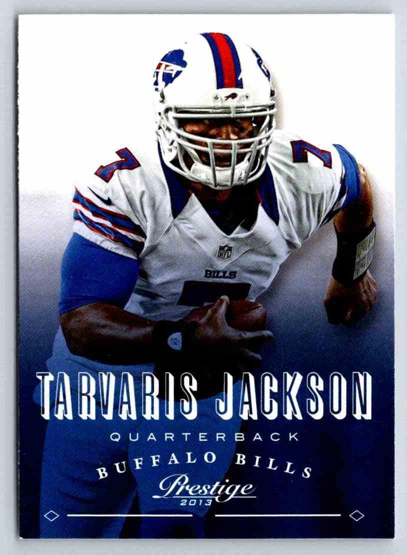 2013 Prestige Tarvaris Jackson #20 card front image
