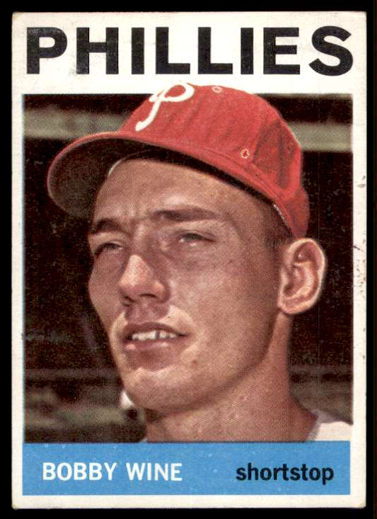 1964 Topps Bobby Wine #347 card front image