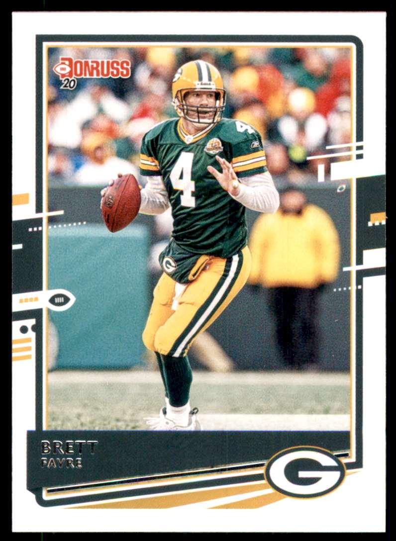 2020 Donruss Brett Favre #108 card front image