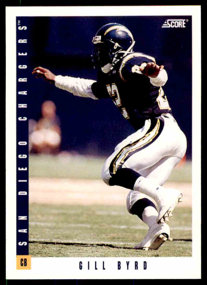 1993 Score NFL Gill Byrd 99 Card Front Image