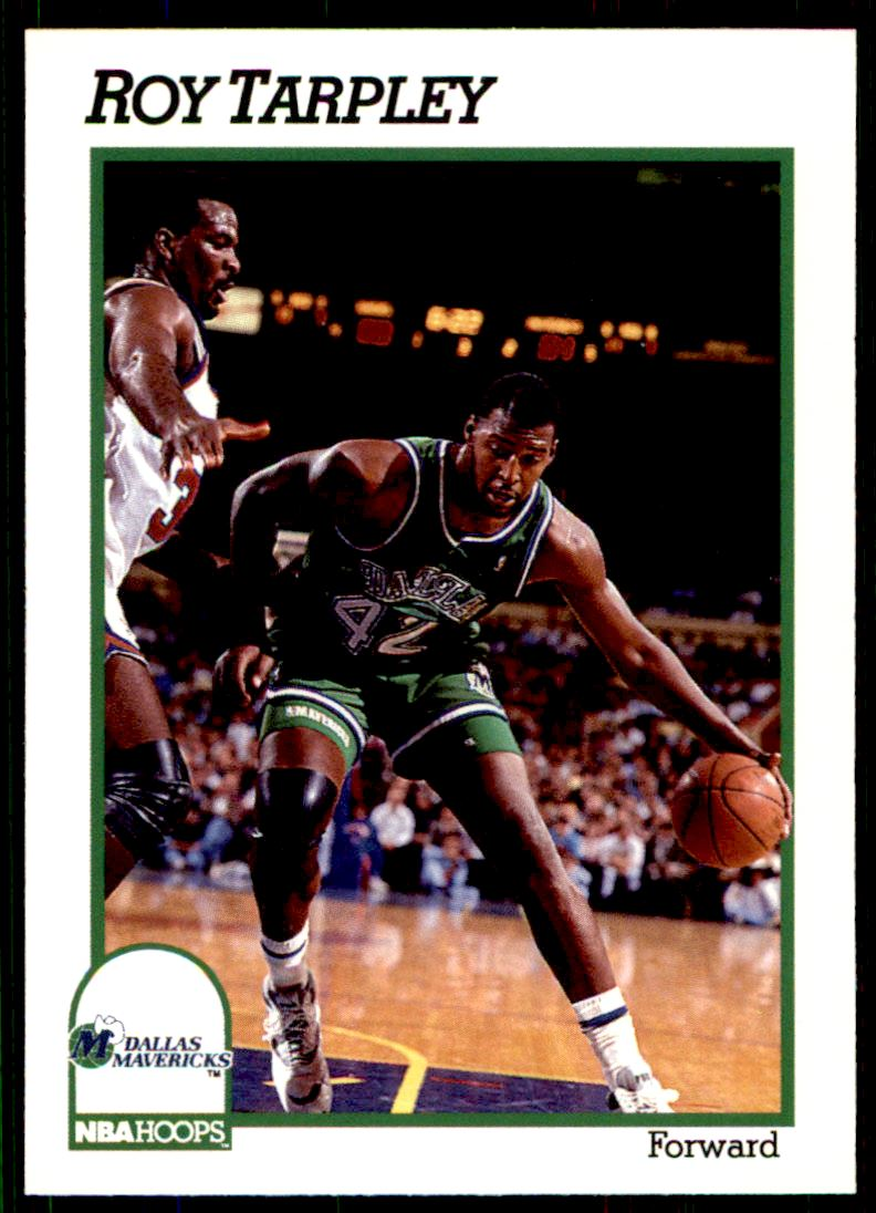 1991 92 Nba Hoops Roy Tarpley 49 on Kronozio