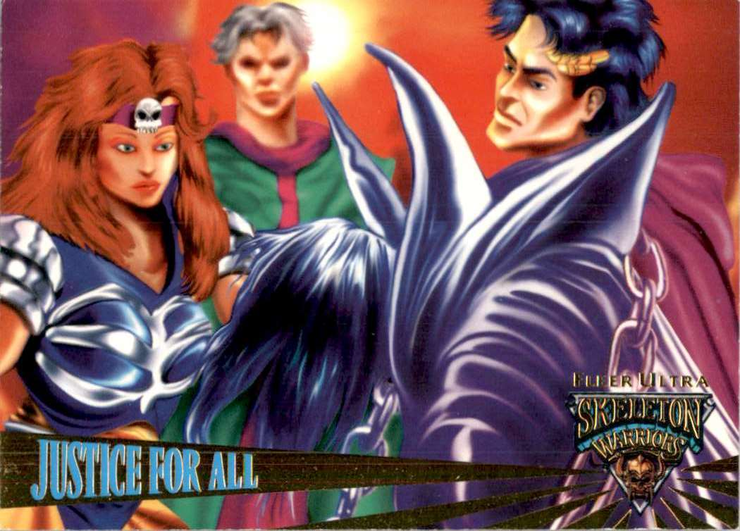 1995 Skeleton Warriors Ultra Justice For All #44 card front image