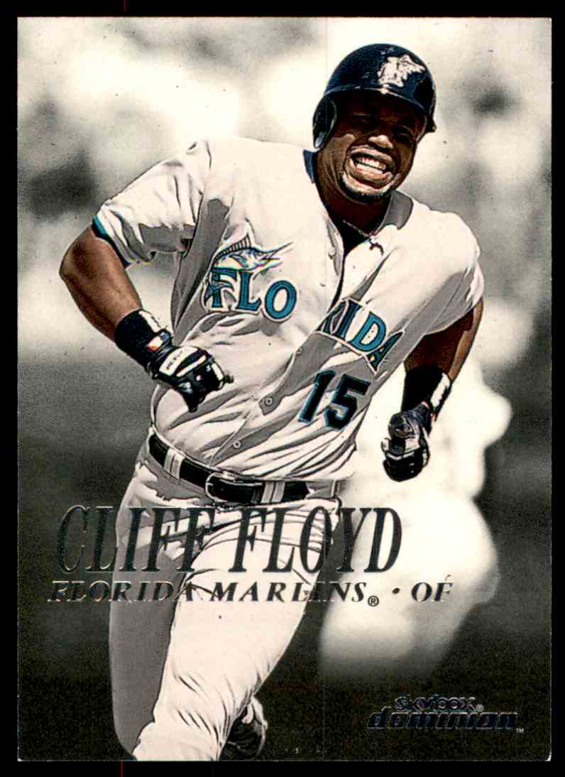 2000 SkyBox Dominion Cliff Floyd #194 card front image