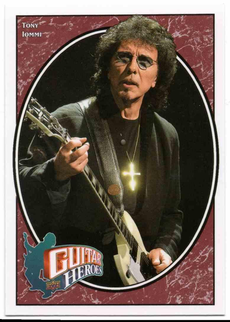 2008 Upper Deck Heroes Tommi Iommi #264 card front image