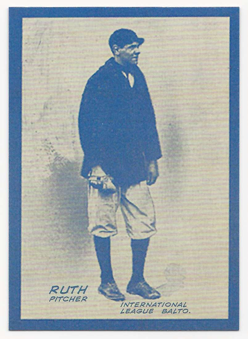 2019 Topps Iconic Card Reprints Babe Ruth #ICR-3 card front image