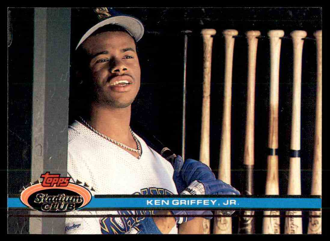 1990 Topps Stadium Club Ken Griffey Jr 270 On Kronozio