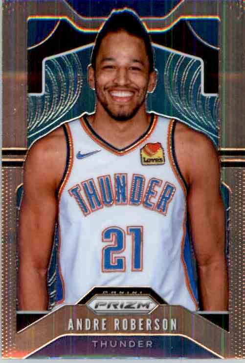 2019-20 Panini Prizm Basketball Prizm Andre Roberson #187 card front image